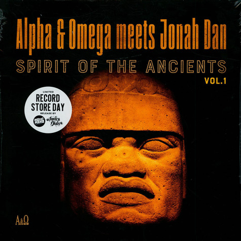 Alpha & Omega Meets Jonah Dan - Spirit Of The Ancients Volume 1 Record Store Day 2021 Edition