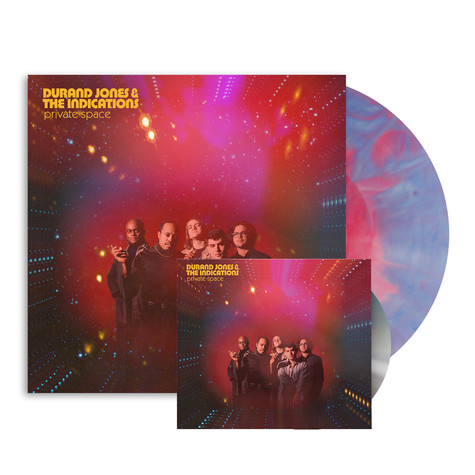 Durand Jones & The Indications - Private Space HHV Exclusive Cotton Candy Splash Vinyl Edition