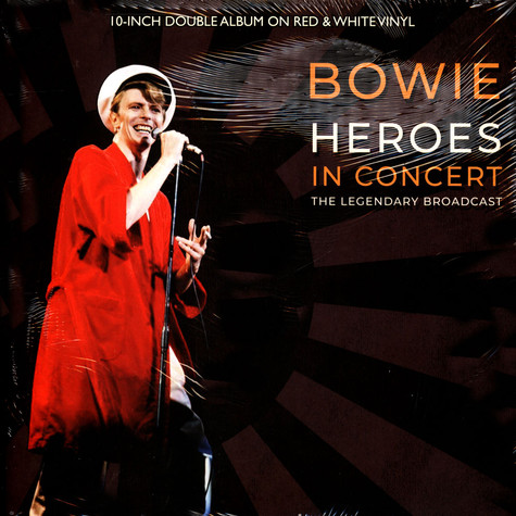 David Bowie - Heroes In Concert Red & White Vinyl Edition