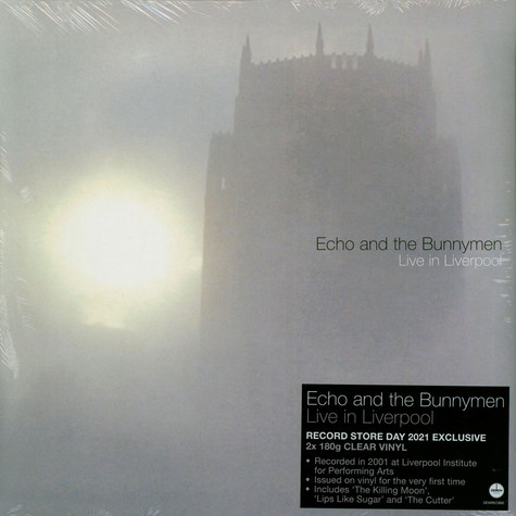Echo & The Bunnymen - Live In Liverpool Clear Record Store Day 2021 Edition