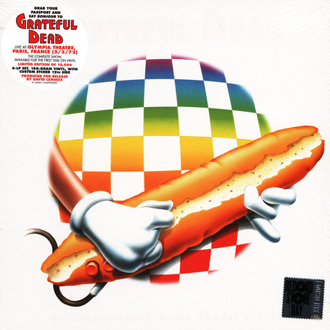 Grateful Dead - Olympia Theatre, Paris, France 5/3/72 Record Store Day 2021 Edition