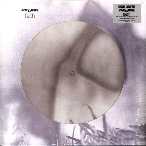 Cure, The - Faith 40th Anniversary Picture Disc Record Store Day 2021 Edition