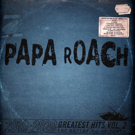 Papa Roach - Greatest Hits Volume 2 The Better Noise Years