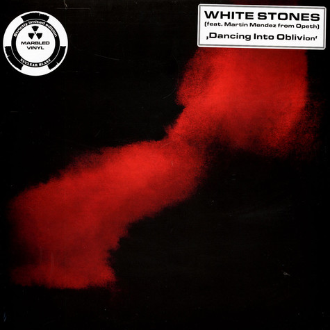 White Stones - Dancing Into Oblivion Black/Red Marbled Vinyl Edition