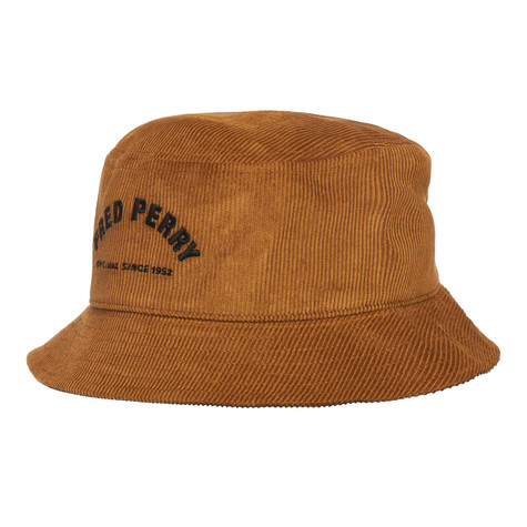 Fred Perry - Arch Branded Cord Bucket Hat