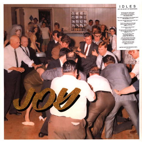 IDLES - Joy As An Act Of Resistance Magenta Vinyl Edition