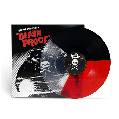 V.A. - OST Quentin Tarantino's Death Proof Red/ Clear / Black Vinyl Edition