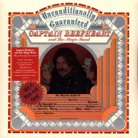 Captain Beefheart - Unconditionally Guaranteed Record Store Day 2021 Edition