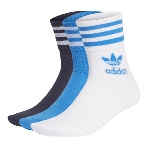 adidas - Mid Cut Solid Crew Sock (Pack of 3)