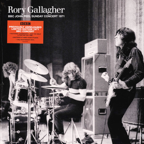 Rory Gallagher - John Peel's Sunday Concert 1971 Colored Vinyl Edition