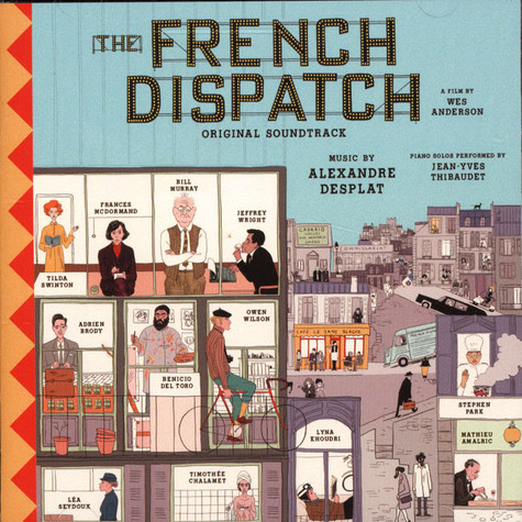 V.A. - OST Wes Andersons' The French Dispatch