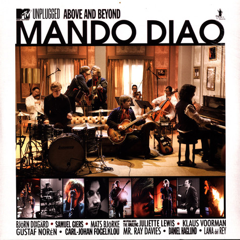 Mando Diao - MTV Unplugged Above And Beyond Limited Colored Vinyl Edition
