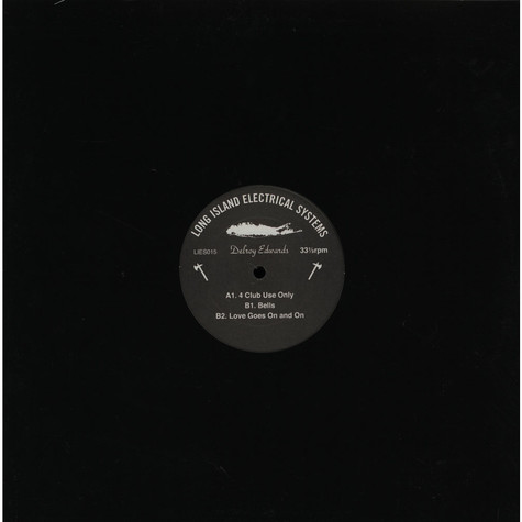 Delroy Edwards - 4 Club Use Only EP