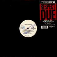 Daddy Freddy - Respect due feat. Heavy D & Frankie Paul