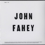 John Fahey - Volume 1 / Blind Joe Death