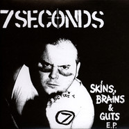 7 Seconds - Skins, Brains & Guts Black Vinyl Edition