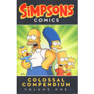 Matt Groening - Simpsons Comics Colossal Compendium Volume 1