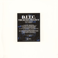 D.I.T.C. - The Remix Project Instrumentals Ink Stamped Test Pressing