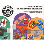 Studio Rarekwai - Stickerbomb Skate: 150 Classic Skateboard Stickers