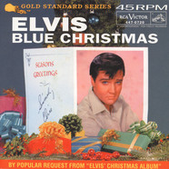 Elvis Presley - Blue Christmas / Wooden Heart