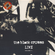 Black Crowes, The - Live - Volume 1 Colored Vinyl Edition