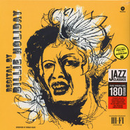 Billie Holiday - Recital By Billie Holiday