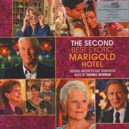 Thomas Newman - OST The Second Best Marigold Hotel Red / White Transparent Vinyl Edition