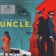 Daniel Pemperton - OST Man From U.N.C.L.E. Black Vinyl Edition