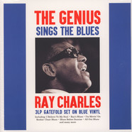 Ray Charles - The Genius Sings The Blues Blue Vinyl Edition