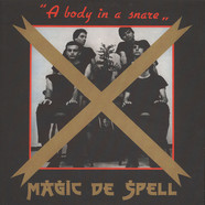 Magic De Spell - A Body In A Snare Clear Red edition