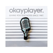 Okayplayer - Microphone Enamel Pin