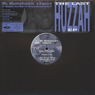 Mr. Muthafuckin' eXquire - The Last Huzzah EP Blue Vinyl Edition