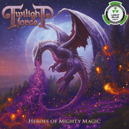 Twilight Force - Heroes Of Mighty Magic Light Blue Vinyl