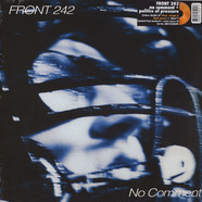 Front 242 - No Comment / Politics Of Pressure Orange / Black Vinyl Edition