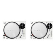 Pioneer DJ - Turntable DJ Set (2x PLX-500 W) Bundle