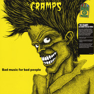 Cramps, The - Bad Music For Bad People 150g Yellow Vinyl Edition