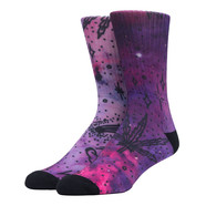 HUF - Space Burnout Digital Crew Socks