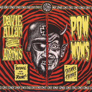 Davie Allan & The Arrows / Pow Wows - Rebel On The Run / Satan's Choice