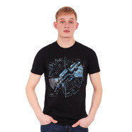 Pink Floyd - Machine Greeting Blue T-Shirt