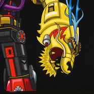 DJ Qbert - Super Seal Giant Robo V.3 (Left Arm) Yellow Vinyl Edition