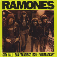 Ramones - City Hall Plaza 1979 In San Francisco