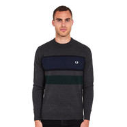 Fred Perry - Colour Block Crewneck Jumper