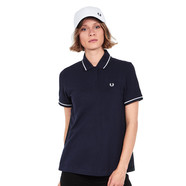 Fred Perry - Pleat Back Tartan Pique Shirt