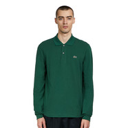 Lacoste - 2 Ply Regular Pique Longsleeve Polo Shirt