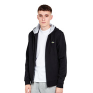 Lacoste - Brushed Fleece Zip-Up Hoodie