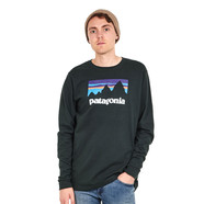 Patagonia - Long-Sleeved Shop Sticker Cotton T-Shirt