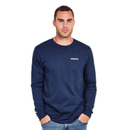 Patagonia - Long-Sleeved P-6 Logo Cotton T-Shirt