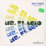 Mr. Flagio - Take A Chance Green Marbeld Vinyl Edition