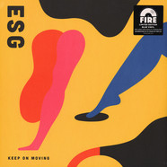 ESG - Keep On Moving Blue Vinyl Edition