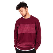 Stüssy - Paneled LS Crew Sweater